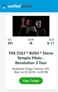 Tickets for The Cult/Bush/Stone Temple Pilots