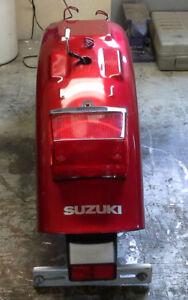 Suzuki S40 savage rear fender with lights