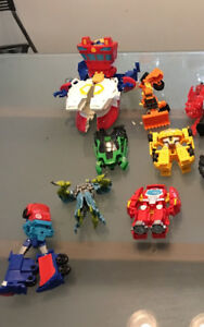 Transformers - Great set of transformer toys