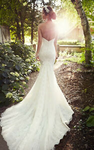 Ivory Lace Essence Wedding Dress