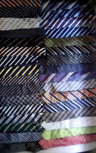 Brand name men neck ties. Used but in excellent condition.