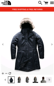 The North Face Women's Arctic Parka Urban Navy - Brand New