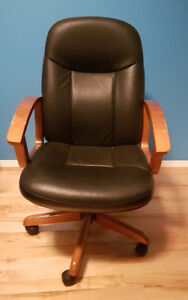 Big Comfy Rolling Office Chair
