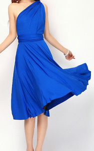 Cobalt blue Infinity dress - one size fits all