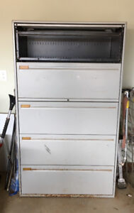 Very large filing cabinet