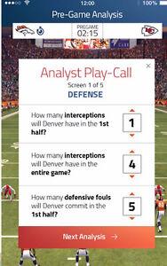 New Interactive Sports App