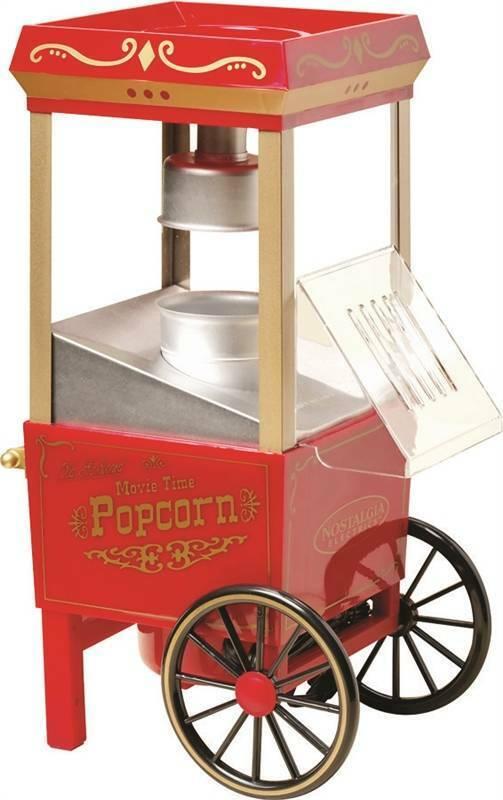 Nostalgia Electrics Old Fashioned Movie Time Popcorn Maker,