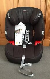 Britax Romer EVOLVA 1-2-3 GROUP 1/2/3, 9 kg-36 kg (9 mths-12 yrs) BNWT, RRP £145