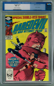Daredevil #181 CGC 9.6 NM+ OW/W PAGES! DEATH of ELEKTRA! BULLSEY