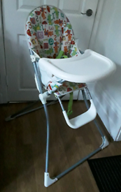 Childs compact highchair