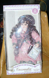 brand-new in box  Porcelain doll