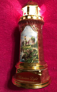 Thomas Kinkade Porcelain Light Up Lighthouses