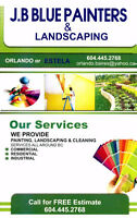 THE BEST PAINTERS YOU CAN GET JB- BLUE PAINTERS & LANDSCAPING