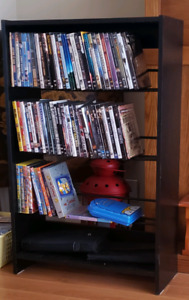 DVD STAND AND DVDS