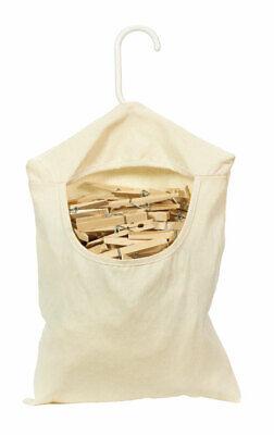 Homz  Plastic  Clothes Pin Bag