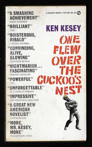 1962 1st ed One Flew Over the Cuckoo's Nest by Ken Kesey