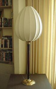 """Asian Inspired 42"""" High Table or Floor  Lamp with Silk Teardrop Lamp Shade"""