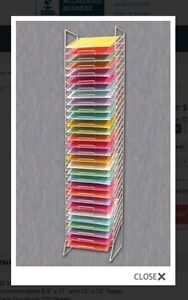 Scrapbook 12x12 paper stand