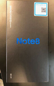 Samsung Note 8 BNIB Unlocked ASM Wireless 6473503939