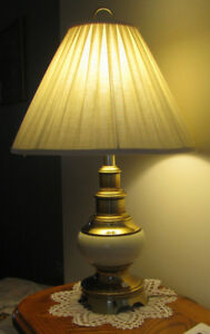 Ceramic/Brass table lamps