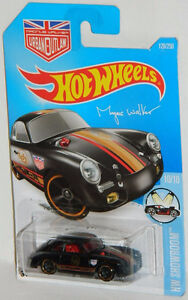Hot Wheels 1/64 Porsche 356A Magnus Walker Outlaw Diecast Car