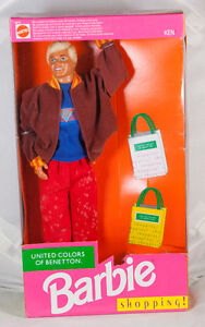 Barbie Doll Vintage Ken United Colors of Benetton Shopping #4876
