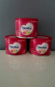New/Sealed Similac Formula Tins (3)