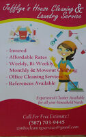 HOUSE CLEANING,LAUNDRY & IRONING AND MOVE OUT CLEANING SERVICES