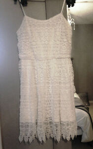 NWT White Lace Dress - Perfect for Stampede!!!