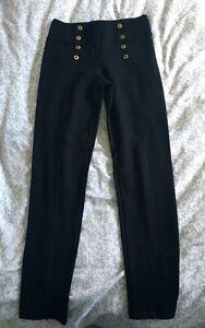 Zara military style black pants
