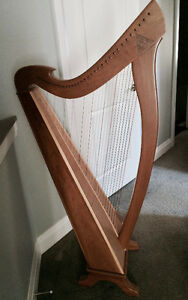 Celtic Harp for Sale - PRICE REDUCED!