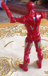 FIGURINE IRAN MAN RED AND SILVER 2010 MARVEL MVLFFLLC Gatineau Ottawa / Gatineau Area image 4