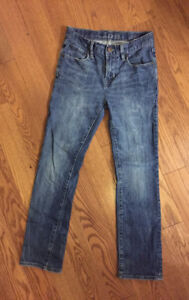 GAP BOYS JEANS SIZE 10, SKINNY FIT, LIKE NEW