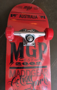 "MADD Gear 8""x 31"" Skateboard BRAND NEW"