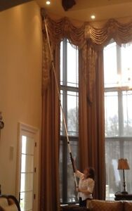 CATHEDRAL CEILING DUST/COBWEB REMOVAL