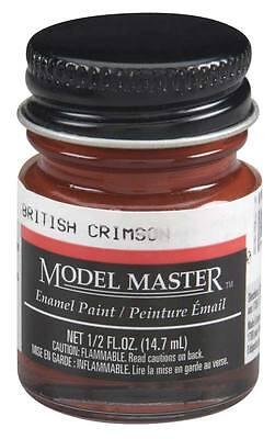 Testors Model Master British Crimson 1/2 oz Enamel Paint 2009 TES2009