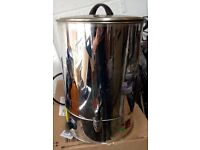 Large tea coffee urn working hot water catering