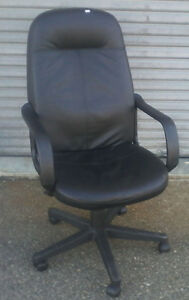 Comfy Leather office Chair