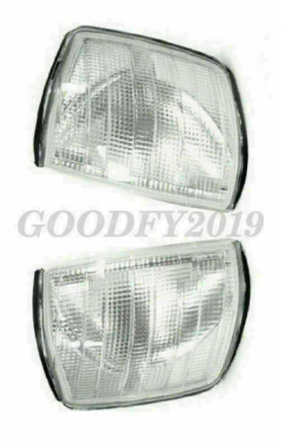 One Pair Clear Corner Lights for USA Mercedes Benz W201 84-93 190E 190D