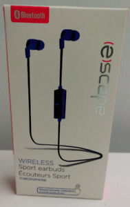 New Escape Sport Bluetooth Earbud Headphones with Microphone