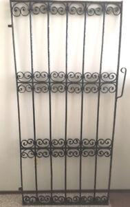 Gorgeous Antique Wrought Iron Gate
