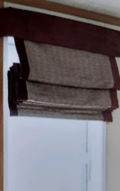 Ex display Roman Blinds (As New) REDUCED