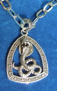 NEW Snake Pendants on Chain/Rope or Leather Necklaces