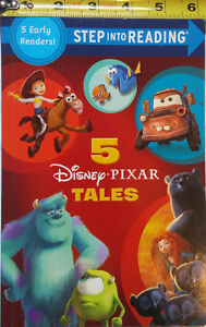 Disney Pixar Tales Step Into Reading 5 in 1 Book