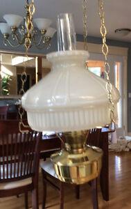 Aladdin Mantle Kerosene Hanging Lamp, Genuine Aladdin US Gatineau Ottawa / Gatineau Area image 2