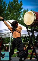 Dynamic solo Japanese /African Drum performance for your event!