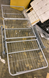 Single metal Folding bed only £35. Massive closing down sale now on. W