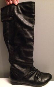 Spring Brand Black Boots Size 6