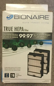 Bionaire True Hepa Air Filter 99.97% Filter Style C, 2-Pack, NEW