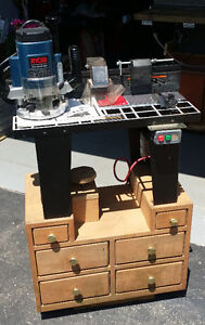 Craftsman Professional Router Table with Ryobi Heavy Duty 19amp